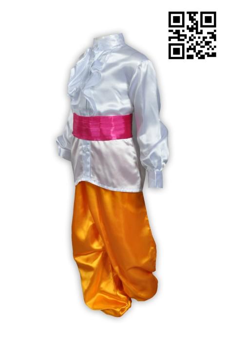 Martial011度身訂造師傅衫 大量訂造功夫衫 太極晨運 師傅 色卡制服套房 綁帶款 功夫衫製造商