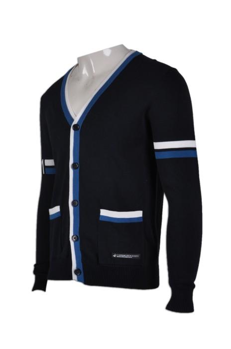 CAR014量身訂做校服冷外套  自製冷外套款式  訂製學校毛衫  校服冷外套專門店HK