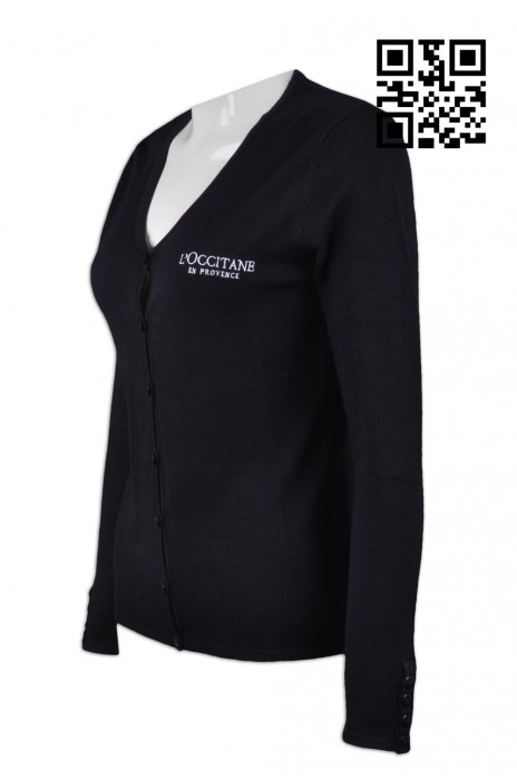 CAR017 設計女款冷外套 供應修身冷外套 美容化妝品行業制服 來樣訂造冷外套 冷外套供應商
