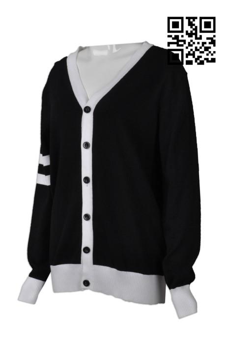CAR023  設計時尚毛衫外套  網上下單冷外套  度身訂造冷外套 冷外套供應商