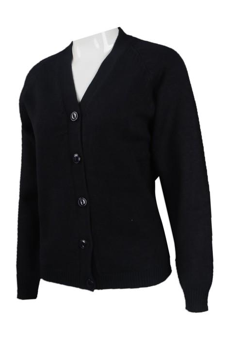 CAR029 來樣訂做針織冷外套 訂製開衫淨色冷外套 HK 衛生署 冷外套供應商