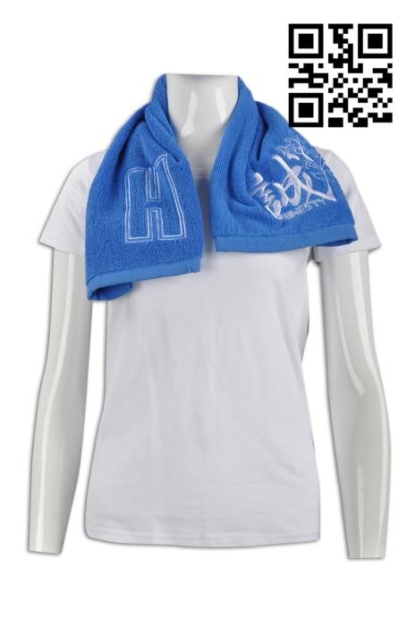 A148  製造繡花毛巾款式    訂造LOGO毛巾款式  學校社隊 校隊毛巾  設計毛巾款式   毛巾生產商
