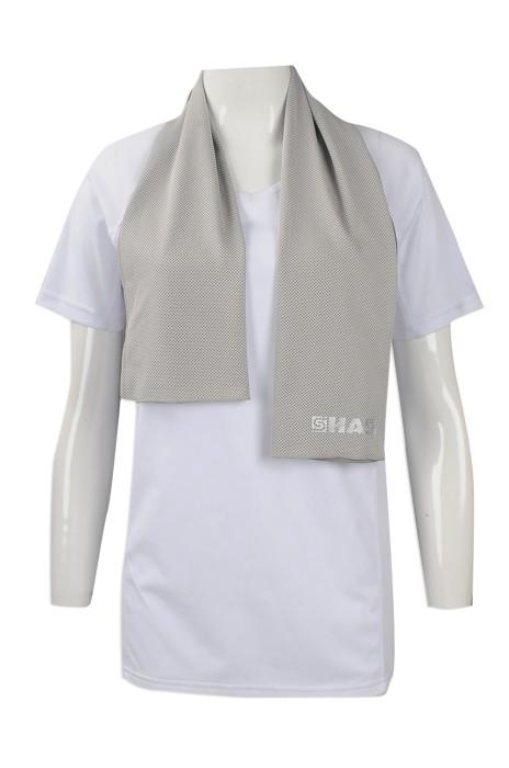 A182 來樣訂做冰涼毛巾款式 團體訂購運動吸汗毛巾 訂印冰涼毛巾製造商