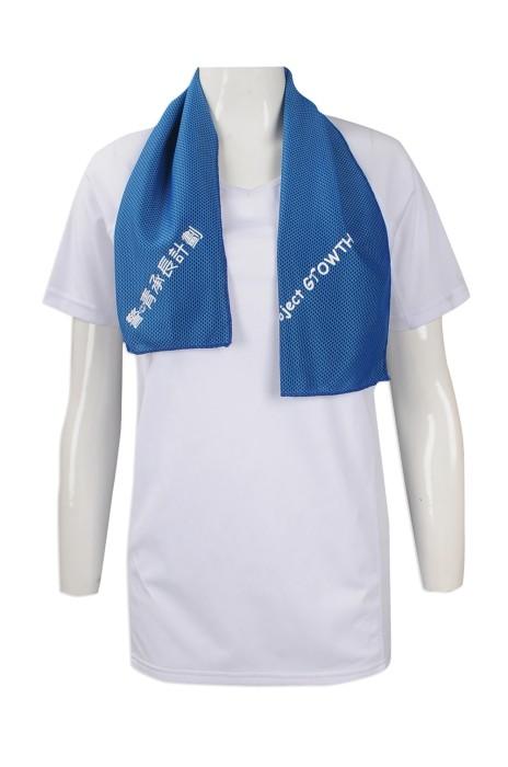 A183 團體訂購冰涼毛巾 設計運動吸汗毛巾款式 印製毛巾生產商