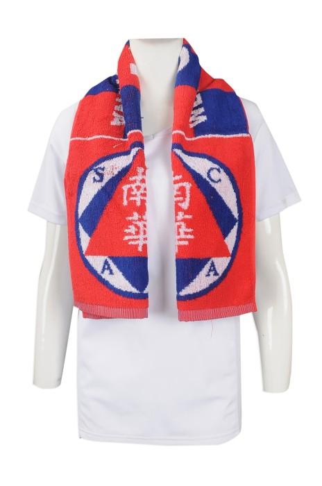 A187 大量訂做純棉毛巾 自訂印花棉毛巾款式 體育會 織花 提花 大毛巾 印製毛巾生產商