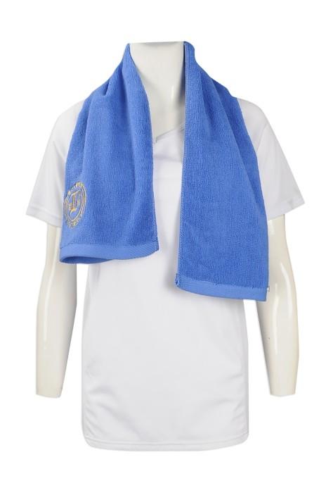 A189 製作運動毛巾 大量訂做毛巾款式 設計繡花毛巾製造商