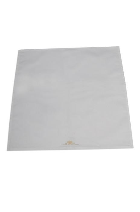 A191 來樣訂做繡花小方巾餐巾 自訂餐巾款式 製作餐巾專營店