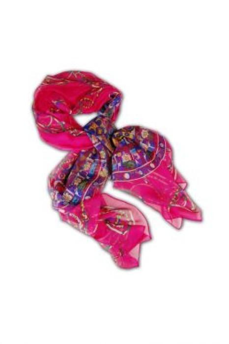 SF-003 訂購時尚女圍巾  專營圍巾 碎花絲巾布 大量生產圍巾 圍巾訂造公司