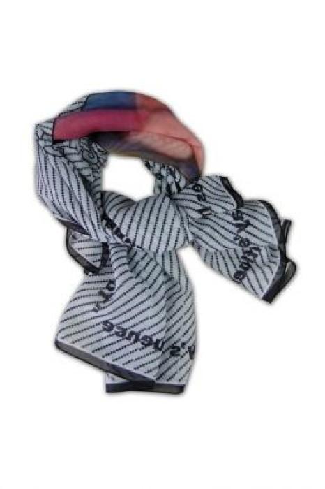 SF-004 訂購真絲圍巾 印花絲巾 專營絲巾訂造 訂製絲巾專門店