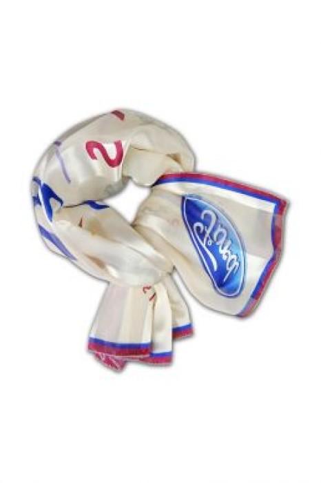 SF-005 訂製印花絲巾 來圖訂造絲巾 大量訂造絲巾價錢  絲巾專門店