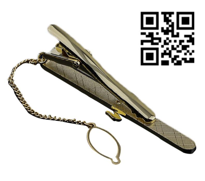 TIECLIP011 領帶夾  金色領帶夾  領呔夾供應商