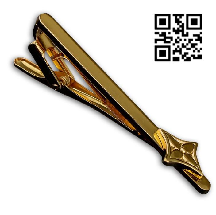 TIECLIP015 製作金色領呔夾 供應時尚領呔夾 領呔夾專門店