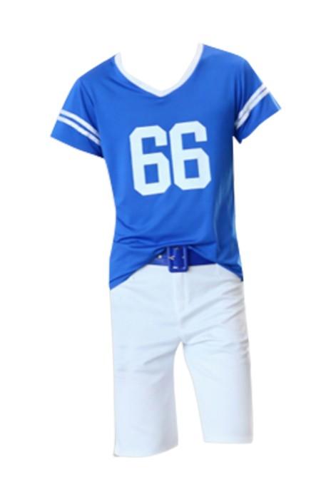 SKCU003 設計啦啦隊服 啦啦操服裝 演出服兒童拉拉隊服裝 健美操表演服  現貨 價格