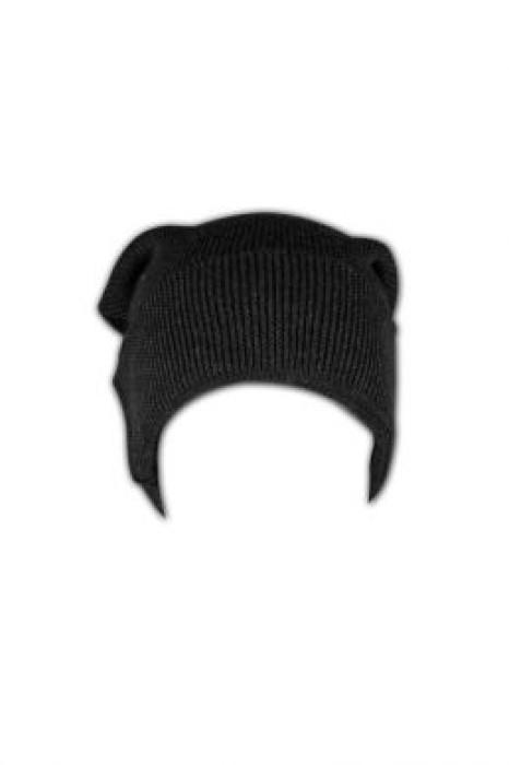 BEANIE002  針織冷帽 訂造 折邊套頭冷帽 粗線冷帽 冷帽專門店