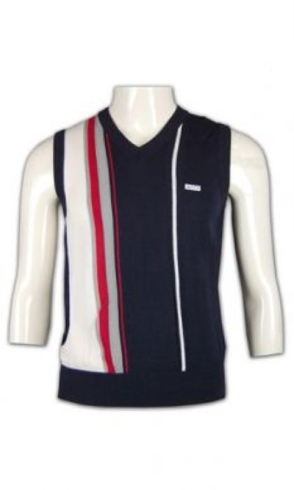 LBX020 制服冷背心 度身訂製 撞色提花冷背心 冷背心設計 冷背心供應商