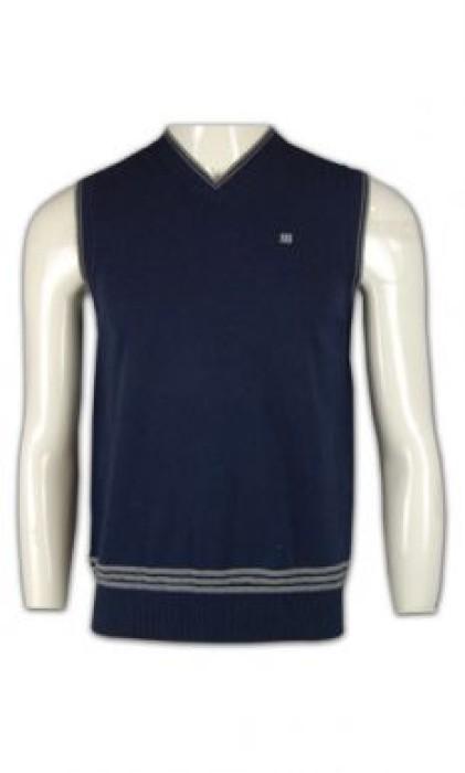 LBX027 批量訂造冷背心 中學校服 冷背心 羊毛冷背心 淨色冷背心 冷背心公司