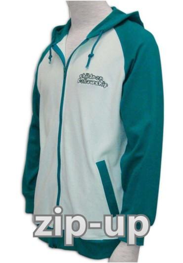 Zip-up/衛衣