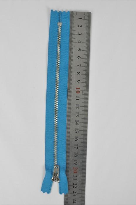 ZIP053  1號拉鏈 銀白色拉鏈 金屬拉鏈  單頭密尾拉鏈 不設單獨拉鍊訂購