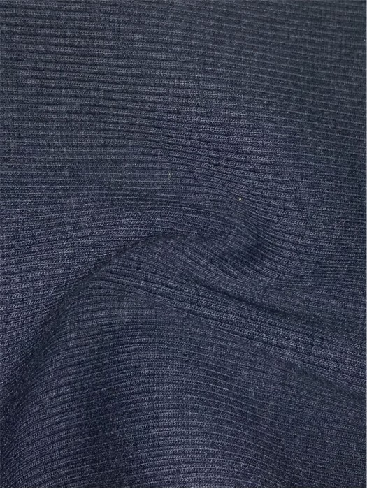 XX-FSSY/YULG  Modacrylic/cotton FR knitted rib fabric 32S/2*32S/2 520GSM