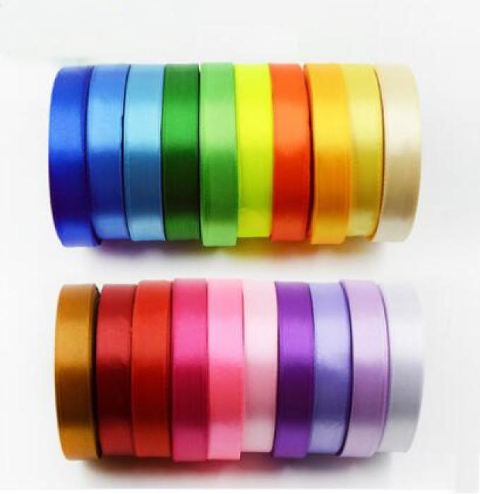 ZJ  單面彩色絲帶  緞帶彩帶
