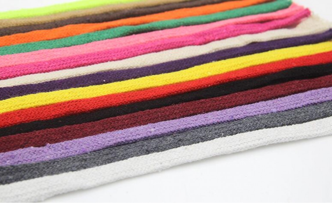 ZJ  彩色棉繩   手工編織繩