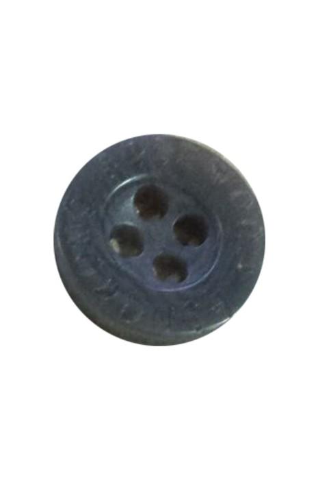 TB-HAKO  灰色雲石紋  1cm 恤衫紐扣  四眼塑料扣