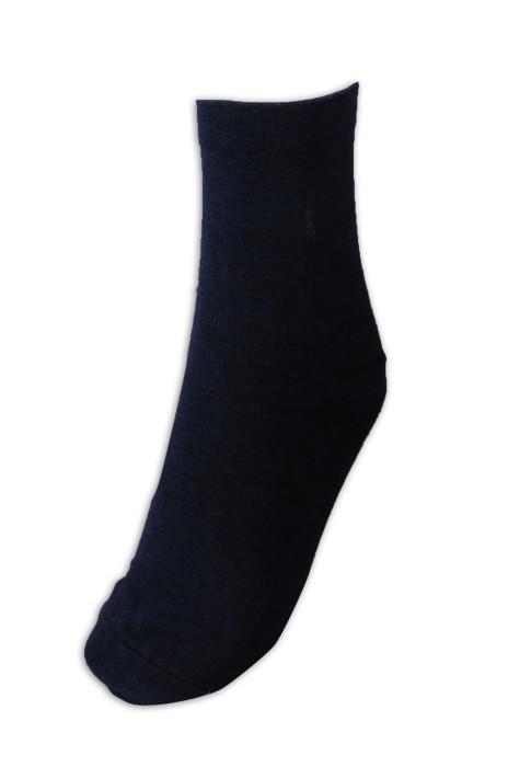 SOC045 製作淨色中筒棉襪 透氣棉襪 襪子專門店
