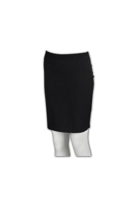 US003 訂做西裙  團購專業套裝裙 修身半裙款式 網上訂購西裝裙 西裝裙專門店