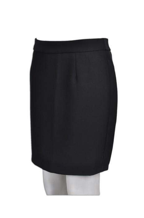 US007   制服西裝裙 來版訂製 及膝西服半裙 西裝裙造型設計 西裝裙製造商