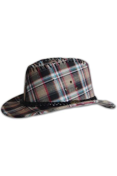 HA082 牛仔紳士帽訂做 牛仔紳士帽度身訂造 牛仔紳士帽網上訂購