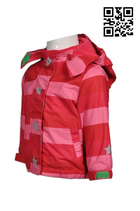 J597訂購大量兒童風樓外套  自定反光風樓外套  設計個人風樓外套  風樓外套供應商