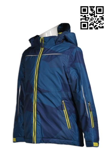 J590 網上下單兒童外套  訂製反光外套風樓  全件印  製造大量兒童外套風樓   風樓外套工廠