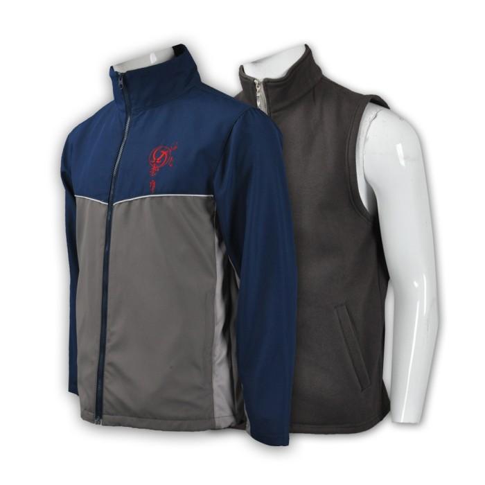 J017 風褸訂做 風褸設計 風褸中心 運動單車衫 運動外套訂製