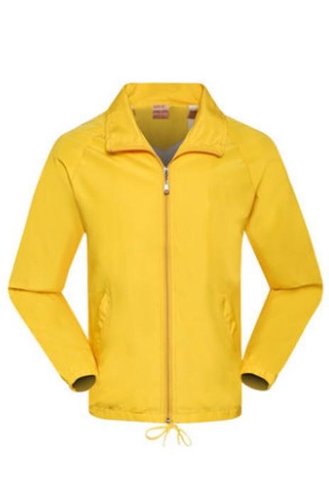 SKJ009  設計工衣外套  長袖廣告風衣  訂做文化衫  大量訂造拉鏈風褸外套 風褸製造商