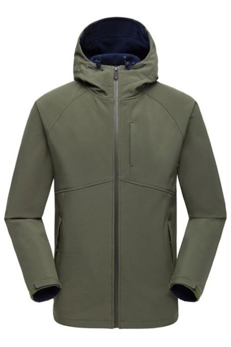 SKJ024 戶外軟殼衣沖鋒衣 男女秋冬衛衣夾克 加厚保暖抓絨運動防風防水外套