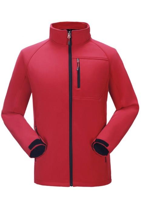 SKJ025 設計軟殼衝鋒衣 訂購保暖工作外套 軟殼風褸hk中心