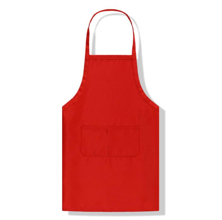 SKAP031 訂購美容美發店圍裙 咖啡廳酒店飯店圍裙 廣告宣傳背帶圍裙  超市促銷員餐飲防汙圍裙