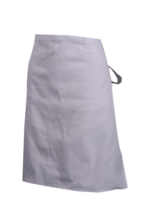 SKAP045 訂做白色半身圍裙 澳門酒店 圍裙專門店