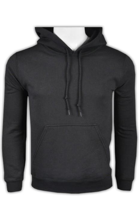 gildan 黑色36C男裝有帽衛衣 88500 來樣訂做熱門帶帽衛衣 DIY衛衣選擇 衛衣供應商  衛衣價格