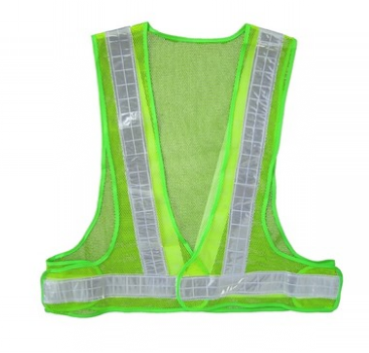 002P light green triangle reflective vest tailored triangle reflective vest triangle reflective vest garment factory reflective vest price