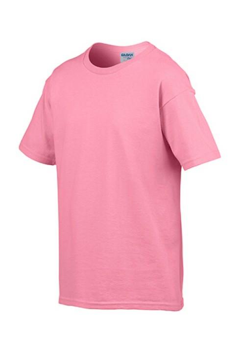 Gildan 杜鵑花色 071 短袖兒童圓領T恤 76000B 童裝T恤印字 團隊童裝訂製 批發童裝T恤 T恤價格
