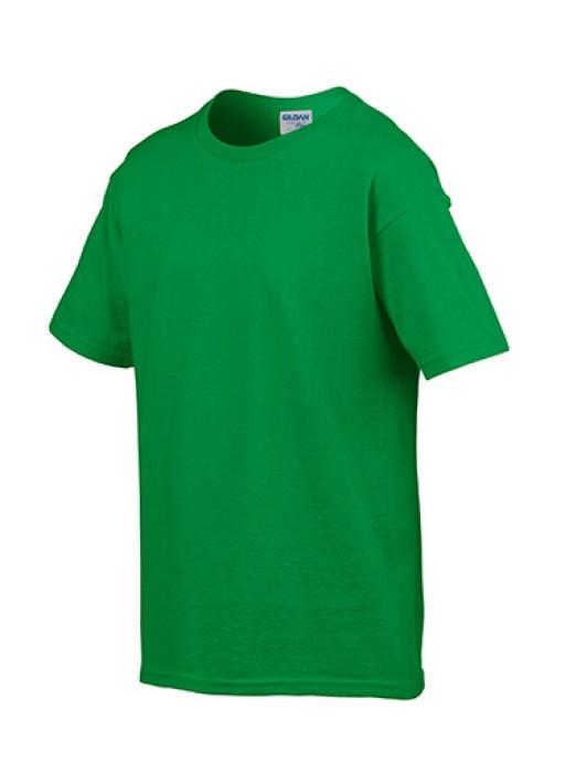 Gildan 愛爾蘭綠色 167 短袖兒童圓領T恤 76000B 純色童裝T恤 童裝印字logo 印字T恤 T恤價格
