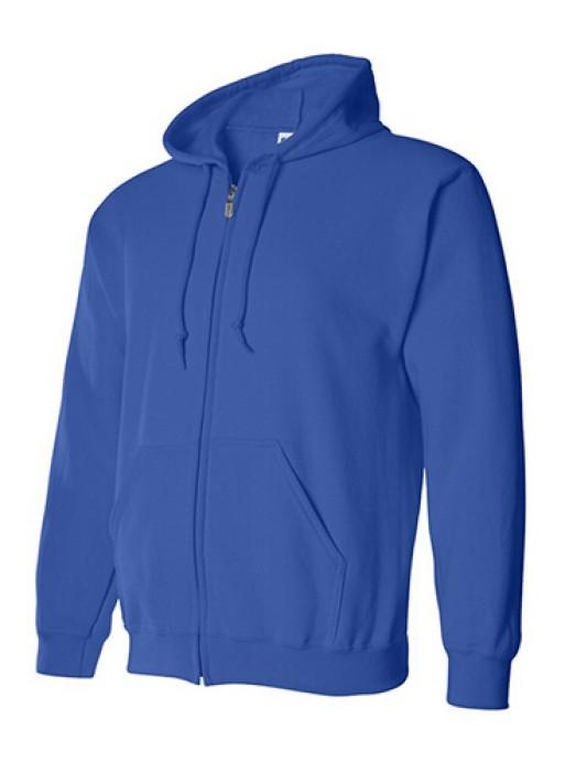 Gildan 彩藍色 051 拉鏈衛衣 88600 現貨拉鏈外套 平價拉鏈外套 拉鏈外套印字 衛衣價格
