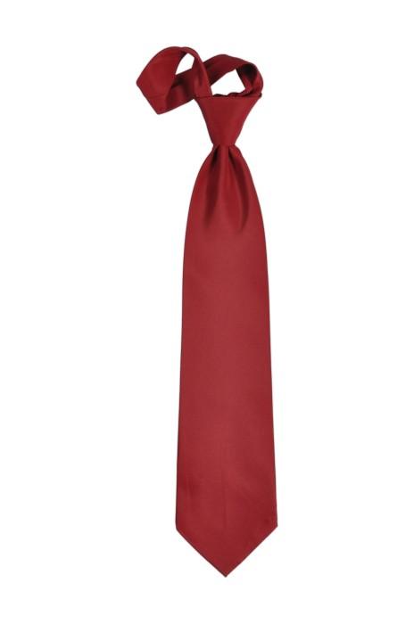 TI107 酒紅色領呔   來樣訂造領呔  領呔製造商 領呔價格