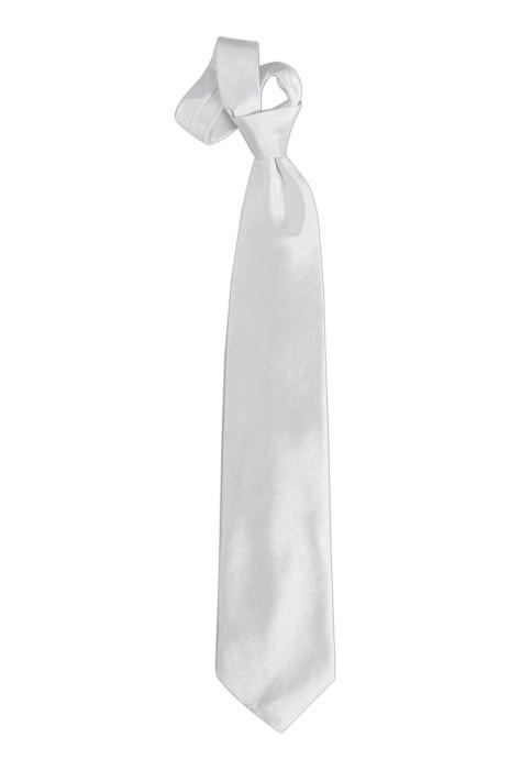 TI120 白色領呔   度身訂購領呔  領呔廠房 領呔價格