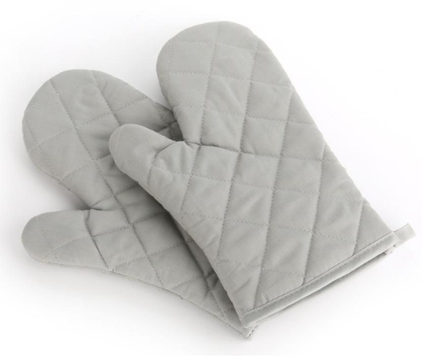 YD150702  灰色隔熱手套   來樣設計隔熱手套  隔熱手套製衣廠   :滌棉65%  70G  隔熱手套價格