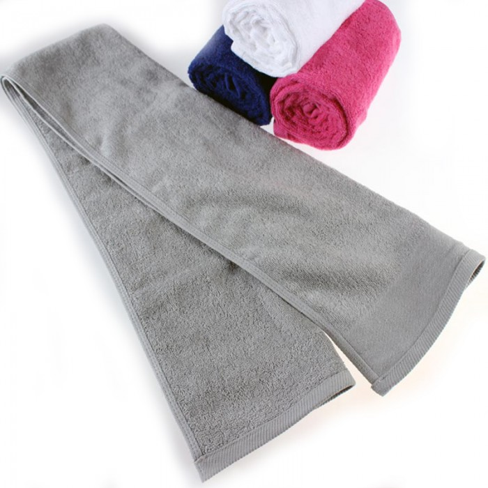 SKTW028  設計跑步運動毛巾  健身房會員毛巾  加長30x110cm 純棉吸汗運動毛巾