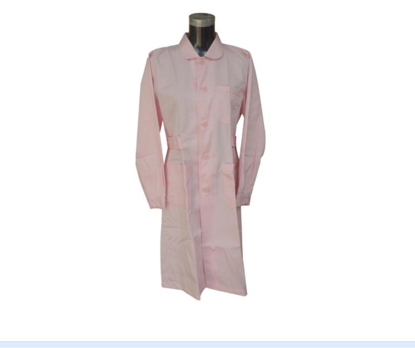 SKU005 設計女款醫生袍   來樣訂造醫生袍   設計修身女裝醫生袍  醫生袍製衣廠