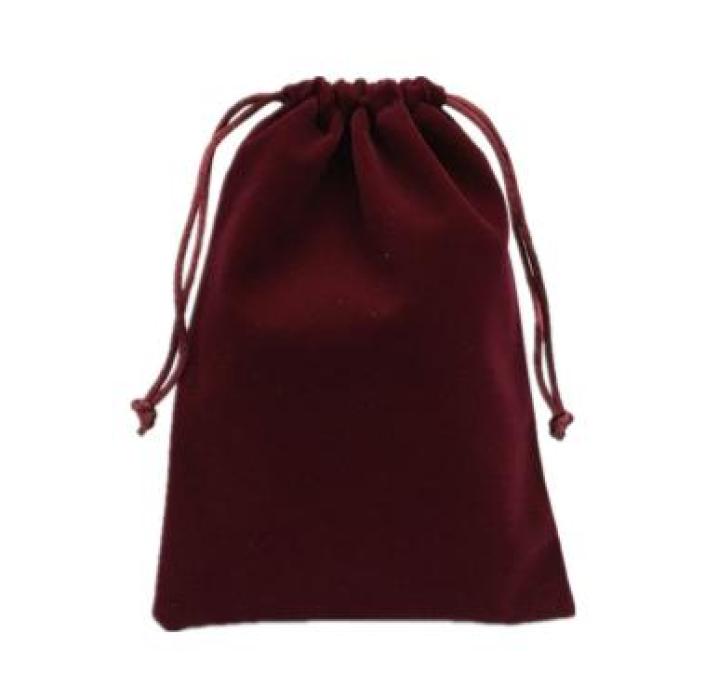 PC004  設計索繩首飾袋 訂造珠寶絨布袋 訂購首飾禮品袋  首飾袋供應商