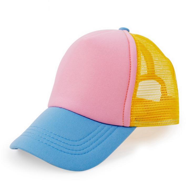 M004  訂造兒童貨車帽  訂購兒童網帽  網上下單網帽 貨車帽供應商  棉綸  貨車帽價格